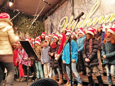 Weihnachtssingen mit Sabine Witzke